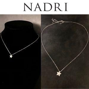 NADRI CZ Star Pendant Necklace